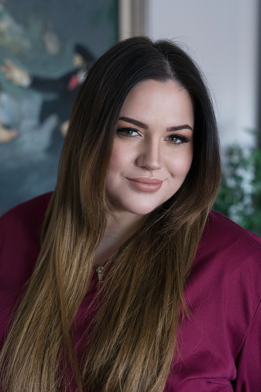 Lucija Šarić-Vlasnica i direktorica salona
